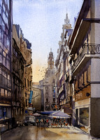 photography to paintings - watercolor by Antonio Bartolo